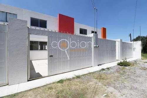 Casa Nueva Con Recamara Planta Baja En Loma Bonita, Tlaxcala