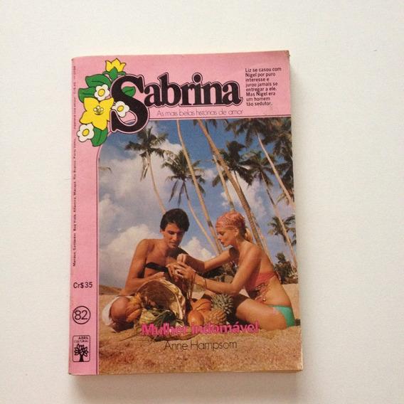 Livro Sabrina Mulher Indomável N°82