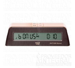 Reloj Ajedrez Digital Dgt 1002 Bonus 2018 Envío Gratis