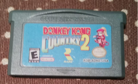 Gameboy Advance Gba Ds Donkey Kong Country 2 Original Salvan