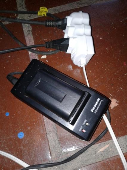 Carregador Bateria Filmadora Panasonic Nv-r Nv-rz15 Barbada