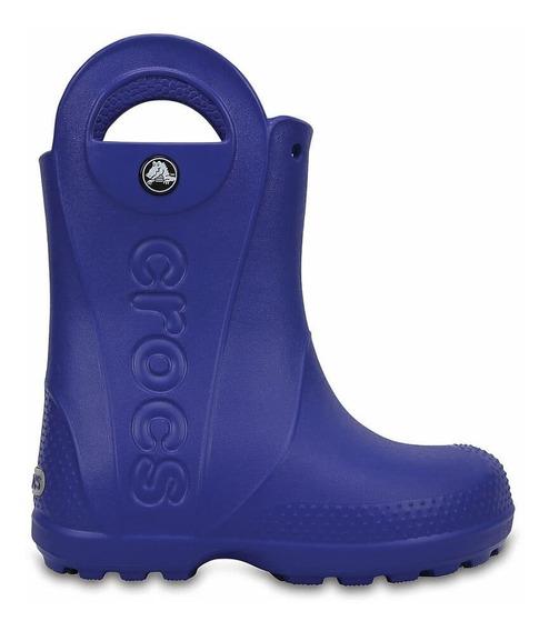 Bota De Lluvia Crocs Handle It Rain Kids C12803 C4o5 Azul