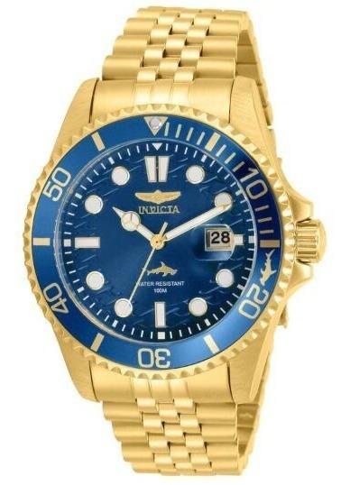 Relógio Invicta Pro Diver Quartz Blue Dial