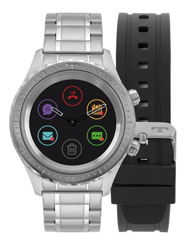 Smartwatch Technos Ref: P01aa/1p Connect Duo Prate
