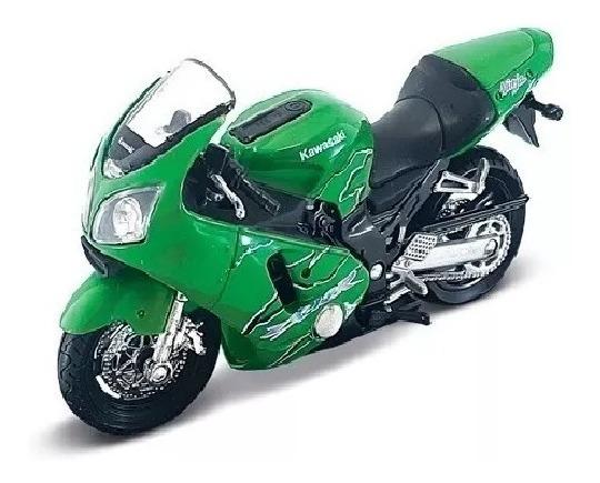 Colecc. Motos De Leyenda Kawasaki Ninja 2. Esc. 1/18
