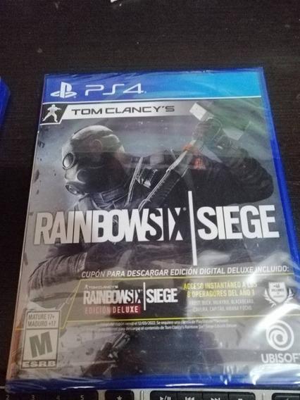 Rainbowsix Siege Para Ps4