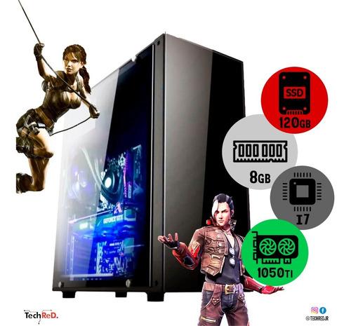 Pc Gamer Core I7  8gb Ddr3 Ssd 120gb - 1050 Ti 4gb + Barato