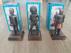 Lote 3 Miniatuas Die Cast Metal Apontador