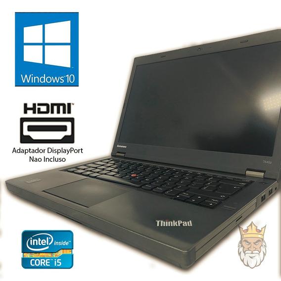 Notebook Core I5 Lenovo T440p Wi-fi - Sem Memória E Hd