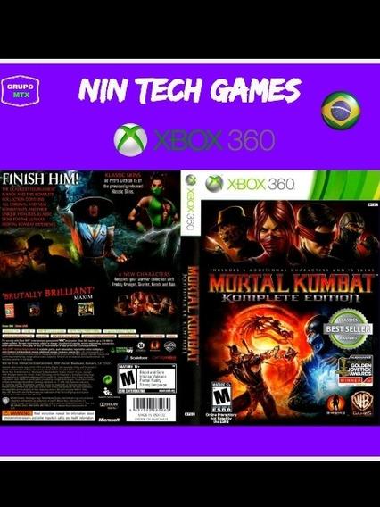 Mortal Kombat Komplete Edition Xbox 360 Jogo P/download