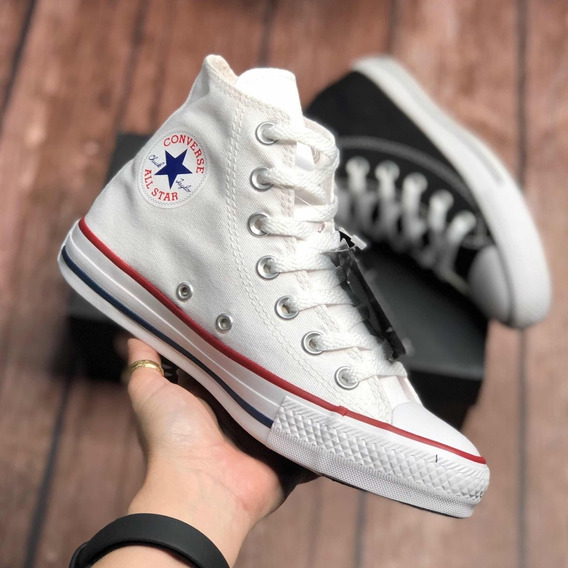 All Star Converse Cano Alto Unissex