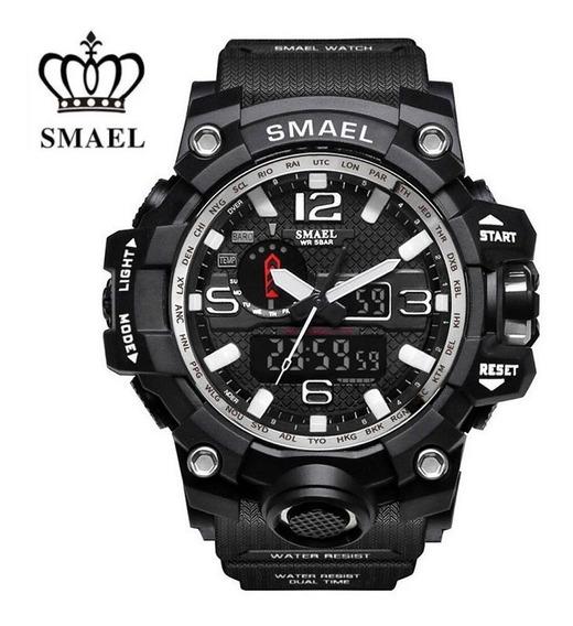 Relógio Masculino Esportivo/militar Smael 1545 - Cores