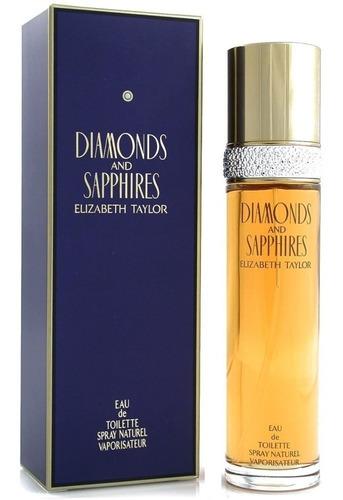 Perfume Diamantes Y Zafiros Elizabeth Taylor Mujer 100ml