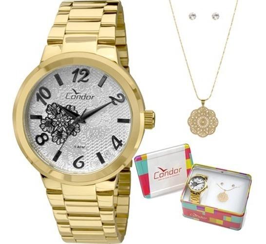 Relógio Analógico Condor Aço Co2035krh/4d Feminino