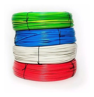 Cable Unipolar 2.5 Mm Normalizado X 1 Rollo De 100 Mts