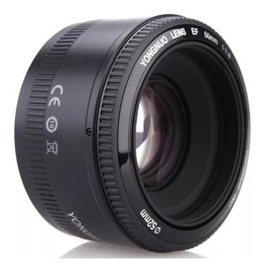 Lente Ef 50mm F1.8 Yongnuo Para Canon Novo Na Caixa P Entreg