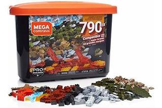 Juego De Bloques Grande Mega Construx, 790 Piezas