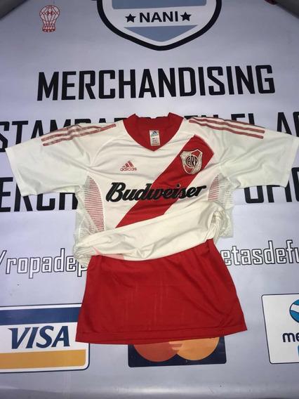 Camiseta De River Plate Doble Tela De Utileria Jugador 8