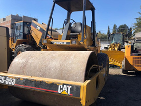 Vibrocompactador Caterpillar Liso Vibro Cat Cs533 84 Cat