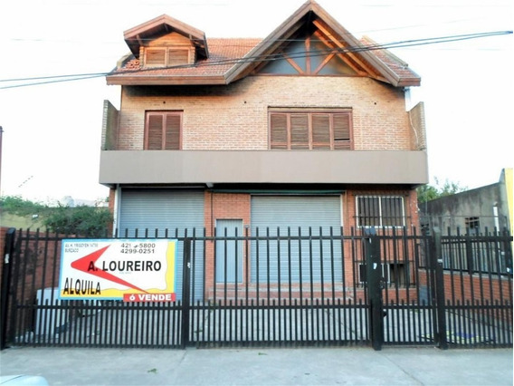 Importante Chalet Comercial C/local Salida A 2 Calles-pileta