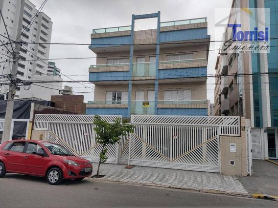 Apartamento, Em Praia Grande, 2 Dormitórios Sendo 02 Suítes, Boqueirão, Ap2368 - Ap2368