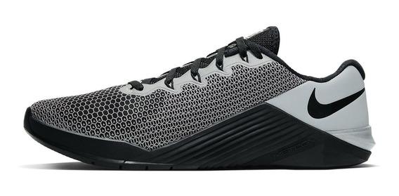 Tênis Nike Metcon 5 X Crossfit Black Grey Skull Training