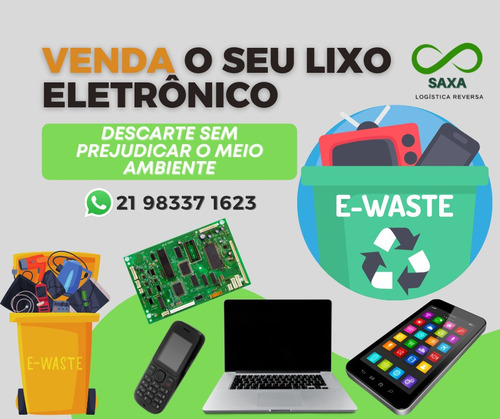 Imagem 1 de 4 de Compro Sucata (lixo) Eletrônica