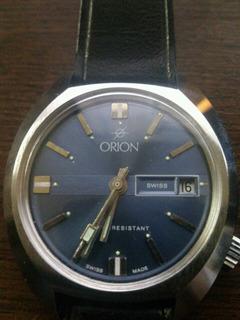 Reloj Suizo Marca Orion