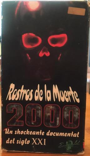 Vhs Rostros De La Muerte 2000