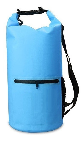 Dry Bag - Bolso Impermeable De 10 Litros Con Doble Strap