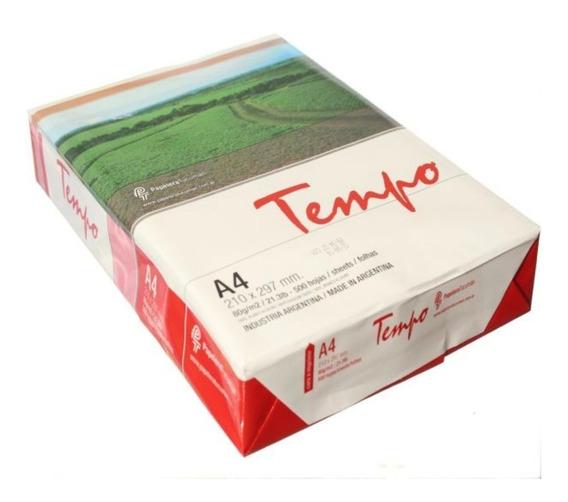 Tempo - Resma A4 80grs | Consultar Envío Gratis!
