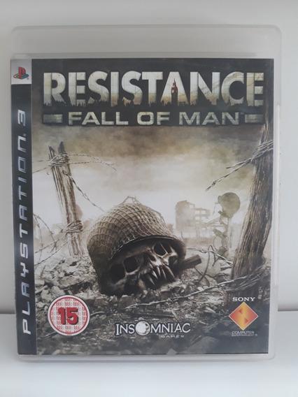 Jogo Para Ps3: Resistance Fall Of Man