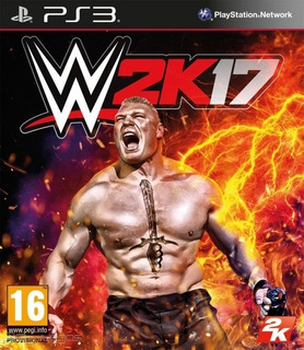 Wwe 2k17 Ps3 Original Entrega Inmediata