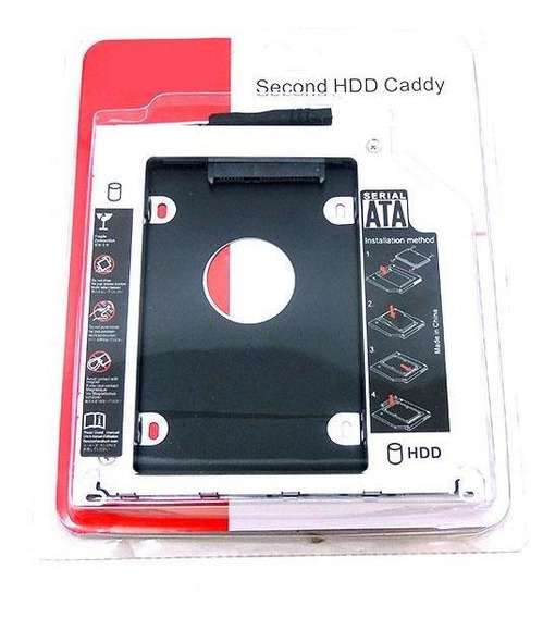 Adaptador Caddy Dvd Drive Apple Macbook Pro 2009 Até 2012