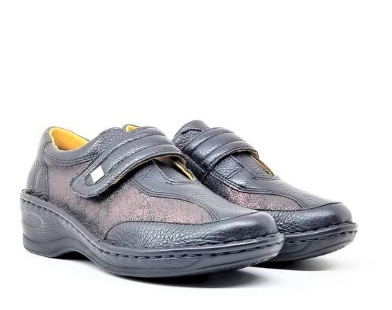 Zapatos Mujer Confort Cuero Goma Claudia Tibay Calzados