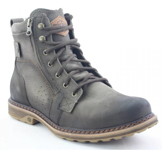 Bota Macboot Masculina Tamboril Grafite Rustico