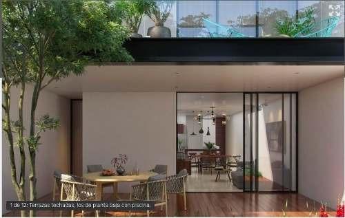 Pre-venta De Departamento De 2 Recámaras, Terraza Y Piscina