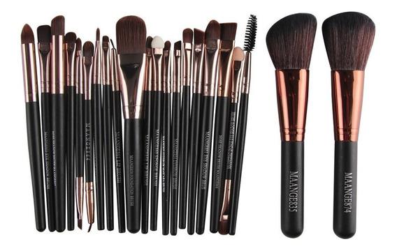 Pincel Maquiagem Profissional Kit 22 Peças Maange835