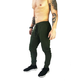 Calça Moletom Jogger Verde Militar Brohood