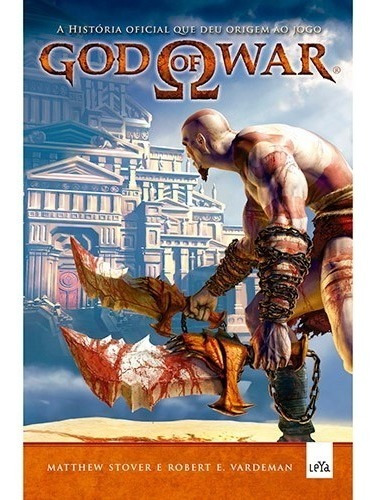 Livro - God Of War - A História Que Deu Origem Ao Jogo
