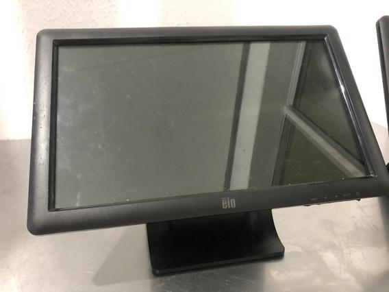 Monitor Touchscreen Elo Et1509l 15,6 Widescreen 2 Un - Usado