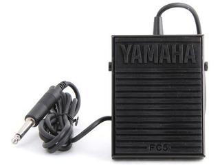 Yamaha Fc5 Compact Sustain Pedal Para Teclados Portátiles, N