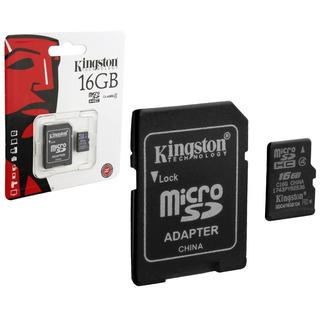 Cartão De Memória Kingston Micro Sdhc 16gb
