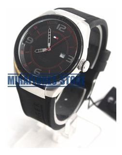 Reloj Tommy Hilfiger 1790807 Deportivo Negro Para Caballero