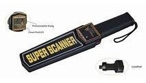 Super Scanner Metal Detector - Black