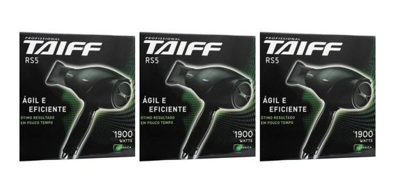 Taiff Rs5-1900w Secador Capilar 220v (kit C/03)