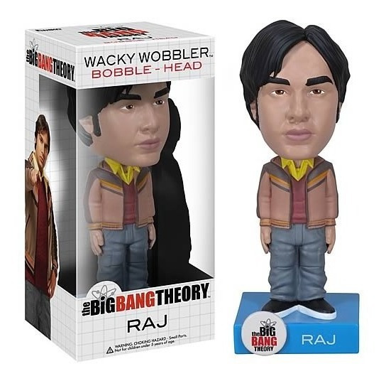 Raj Big Bang Theory Wacky Wobbler Bobble Head Bonellihq L18