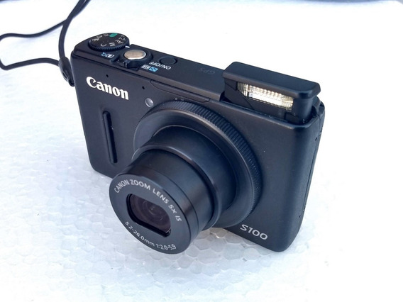 Camara Compacta Canon S100 (dispara En Raw) Cuotas S/interes