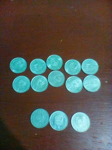 Imagen 1 de 1 de Moneda De 1 Bolivares  1990  1989 1986 1977 1967