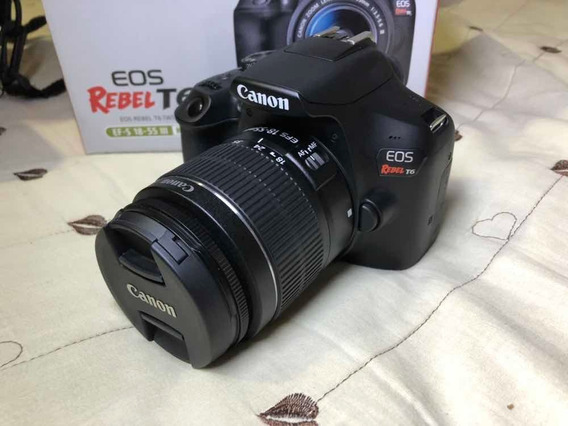Canon T6 Eos T6+18-55+ Bolsa+ Tripé+ Cartão San Disk 32 Gb.